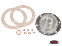 more details on Oil strainer and gasket set (dual relief) - Various aircooled