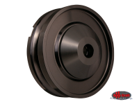 more details on Billet alternator/dynamo pulley, anodised