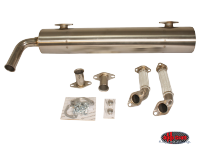 more details on Vintage speed, stainless steel sports exhaust - Type 3