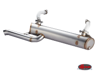 more details on Vintage speed, stainless steel sports exhaust, standard - Type 2, 68>79