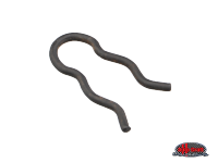 more details on Spring clip for handbrake lever pin - Type 2, 52>79
