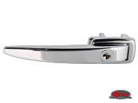more details on Chrome, Ice Pick door handle, locking - Type 1, >55 & Type 2, >60