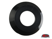 more details on Escutcheon, inner door handle, black - Type 2, 58>66
