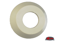 more details on Escutcheon, inner door handle, silver beige - Type 2, 58>66