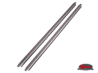 more details on Divider bar, stainless steel, polished (pair) - Type 2, 55>67
