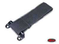 more details on Cargo door check strap, black - Type 2, 60>67 & Bay double cab