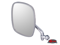 more details on Wing mirror, stainless, left - Type 2, 68>79 & Trekker/Thing