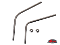 more details on Mirror arms, stainless steel (pair) - oversize (8.5mm) - Type 2, 55>67