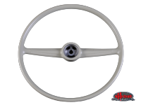more details on Steering wheel, silver beige - Type 2, 52>67