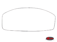 more details on Deluxe front screen seal trim set - Type 2, 68>79