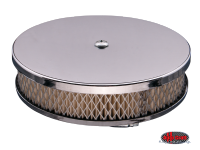 more details on Pancake air filter, chrome - 1200cc-1600cc