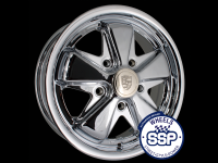 more details on Alloy wheel, Fooks, 5.5j, chrome - Various aircooled