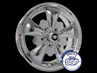 more details on Alloy wheel, GT 5 spoke, chrome - Various aircooled