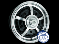 more details on Alloy wheel, Sprintstar, gloss black - Various aircooled