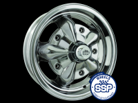 more details on Alloy wheel, Torque, polished - Various aircooled