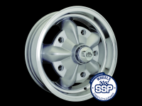 more details on Alloy wheel, Torque, silver & polished - Various aircooled