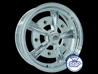 more details on Alloy wheel, Raider, chrome - Various aircooled