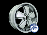 more details on Alloy wheel, Fooks 17inch, chrome - Various aircooled