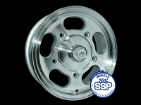 more details on Alloy wheel, Slot mag, machine cut/polished lip, TUV approved - Various aircooled