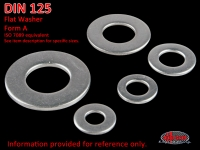 more details on Washer A 8.4, stainless steel - DIN 125
