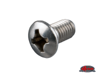 more details on Cab door hinge screw, stainless - Type 2, >67
