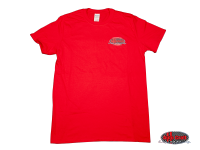 more details on Auto Craft Anniversary T-shirt, Red, Extra Large